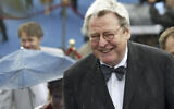 Film director Alan Parker arrives at the opening ceremony of 26th Moscow International Film Festival in Moscow on June 18, 2004. Parker, whose movies included 'Bugsy Malone,' 'Midnight Express' and 'Evita,' has died at the age of 76. A statement from the director's family says Parker died Friday in London after a long illness. (AP Photo/Misha Japaridze, File)