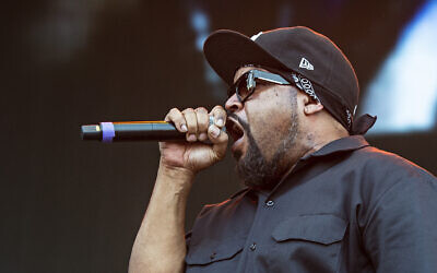 Ice Cube, also known as O'Shea Jackson, performs at the KY Expo Center in Louisville, Kentucky, on September 28, 2019. (Amy Harris/Invision/AP)