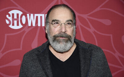 Actor Mandy Patinkin attends Showtime's 'Homeland' eighth and final season premiere at the Museum of Modern Art on Feb. 4, 2020, in New York. (Evan Agostini/Invision/AP)