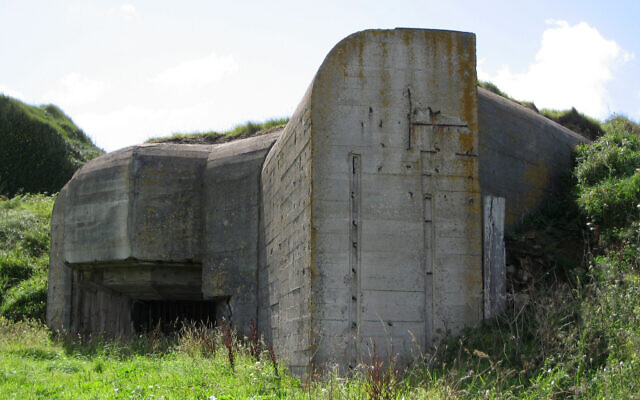 Bunker on Alderney, likely built by slave labor from Sylt and the other camps. (Andree Stephan/ CC BY 3.0/ via Antiquity Publications)