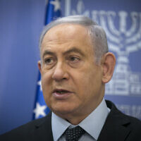 Prime Minister Benjamin Netanyahu, June 30, 2020. (Olivier Fitoussi/Flash90)