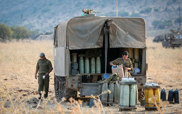 Israel hits squad that placed explosives along Syria frontier, army says