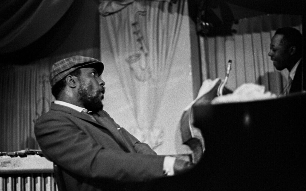 Thelonious Monk and Charlie Rouse (Larry Fink)