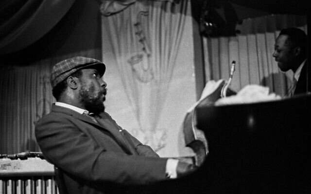 Thelonious Monk and Charlie Fink (Larry Fink)