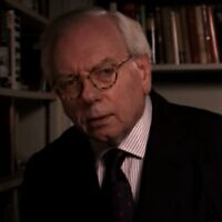 David Starkey (Screen capture: YouTube)
