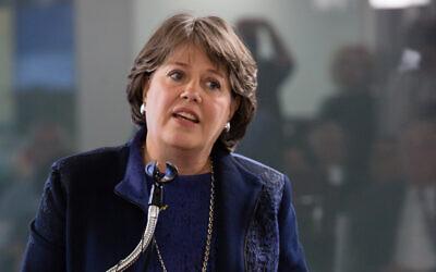 Former Bank of Israel deputy governor Nadine Baudot-Trajtenberg (Bank of Israel)