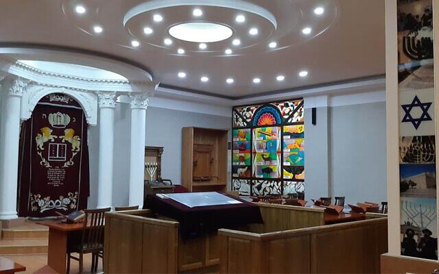 The Ashkenazi Synagogue of Tashkent, Uzbekistan. (Courtesy/L'Chaim via JTA)