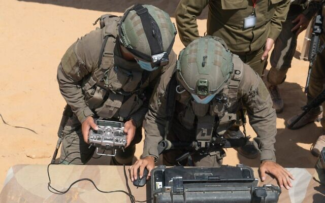 Soldiers from the IDF's Ghost Unit take part in a weeks-long training exercise in July 2020. (Israel Defense Forces)