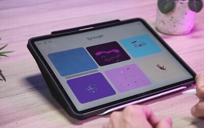 Award-winning animation app Looom, recognized at the 2020 Apple Design Awards (YouTube screenshot)