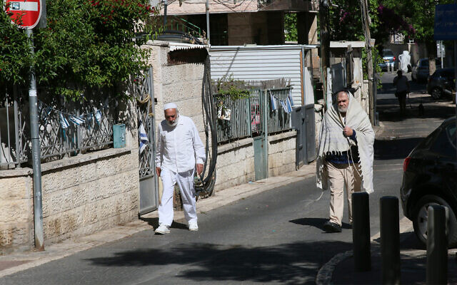 Barashi street in Jerusalem, named for Yitzhak Barashi, a Kurdistani-born rabbi who fought in Israel's War of Independence. (Shmuel Bar-Am)