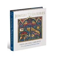 "The cover of ""Jewish Treasures from Oxford Libraries"""
