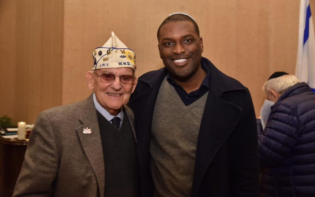 """Mondaire Jones says that """"Having been born and raised in Rockland County, I feel like I'm part of the Jewish family."""" (Courtesy of Mondaire for Congress via JTA)"""