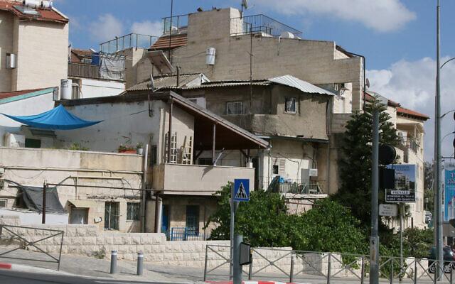 The Shaarei Rahamim quarter of Jerusalem's Nahlaot neighborhood. (Shmuel Bar-Am)