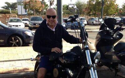 Moshe Strugano in 2013 (Facebook screenshot)