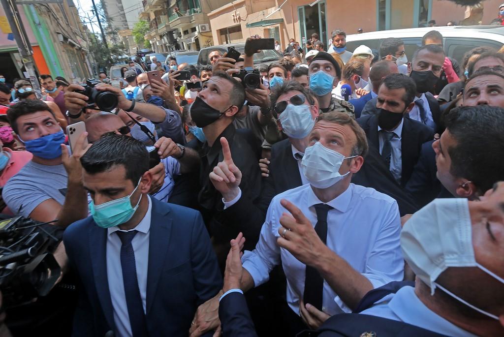 In blast-hit Lebanon, Macron says he wants to coordinate ...