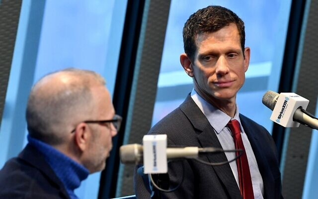 James Mackler at a panel on 'How to on Survive an Authoritarian in a Red State' in Nashville, Dec. 18, 2017. (Jason Davis/Getty Images for SiriusXM)