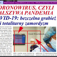 B'nai Brith Canada has filed a police report over Głos Polski's article blaming Jews for the pandemic. (Courtesy of B'nai Brith Canada via JTA)