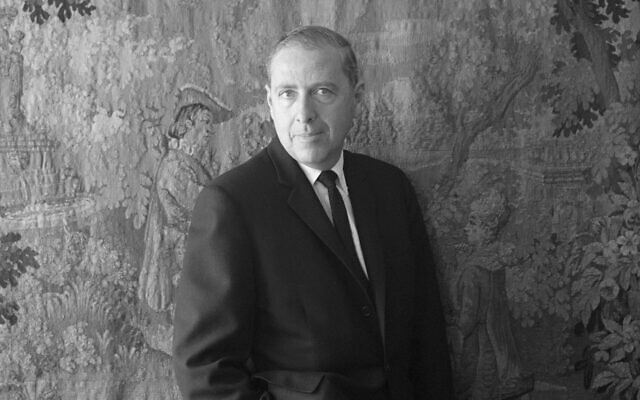 Herman Wouk in 1975. (Alex Gotfryd/CORBIS/Corbis via Getty Images via JTA)