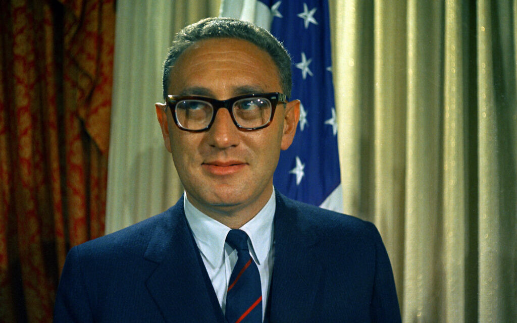 'Machiavellian' German refugee Kissinger shaped US policy with Jewish philosophy