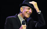 Leonard Cohen performs during the first day of the Coachella Valley Music & Arts Festival in Indio, Calif., Friday, April 17, 2009. (AP Photo/Chris Pizzello)