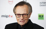 Larry King attends the 45th International Emmy Awards at the New York Hilton on November 20, 2017, in New York. (Andy Kropa/Invision/AP)