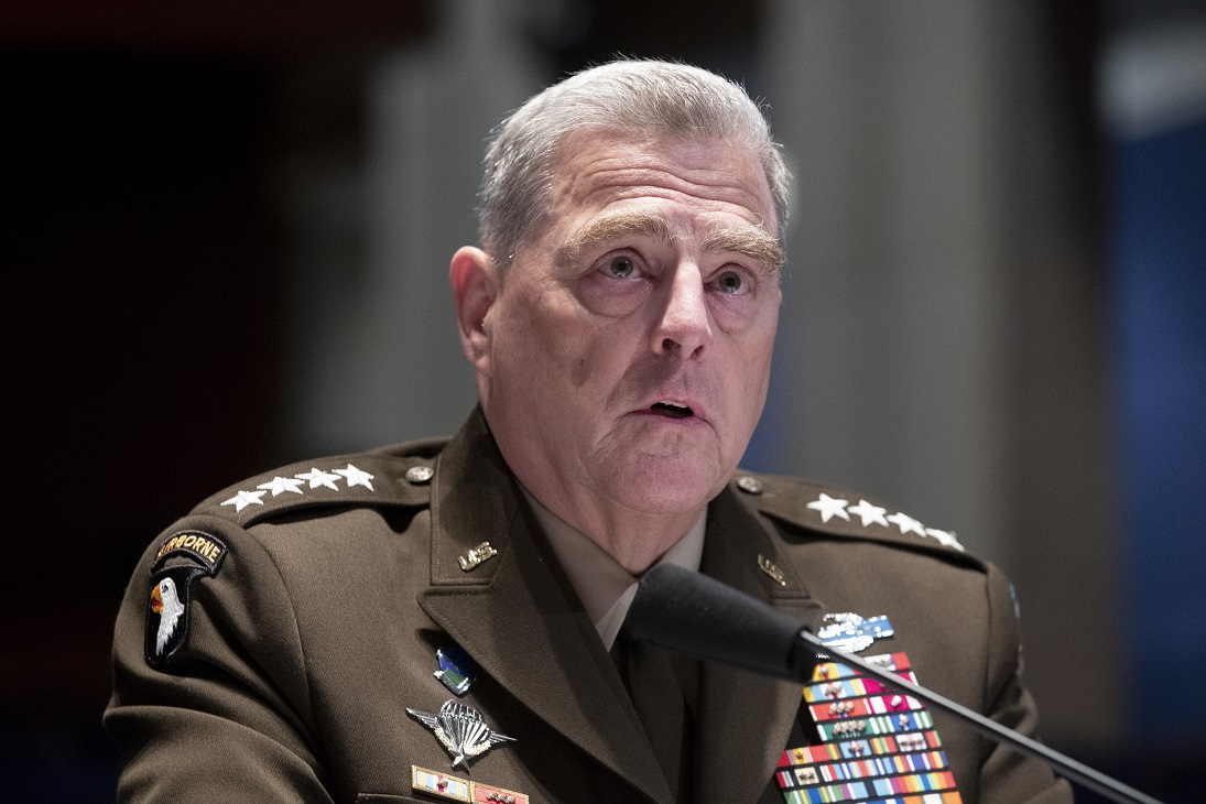 Top US general says military won't play role in 2020 election