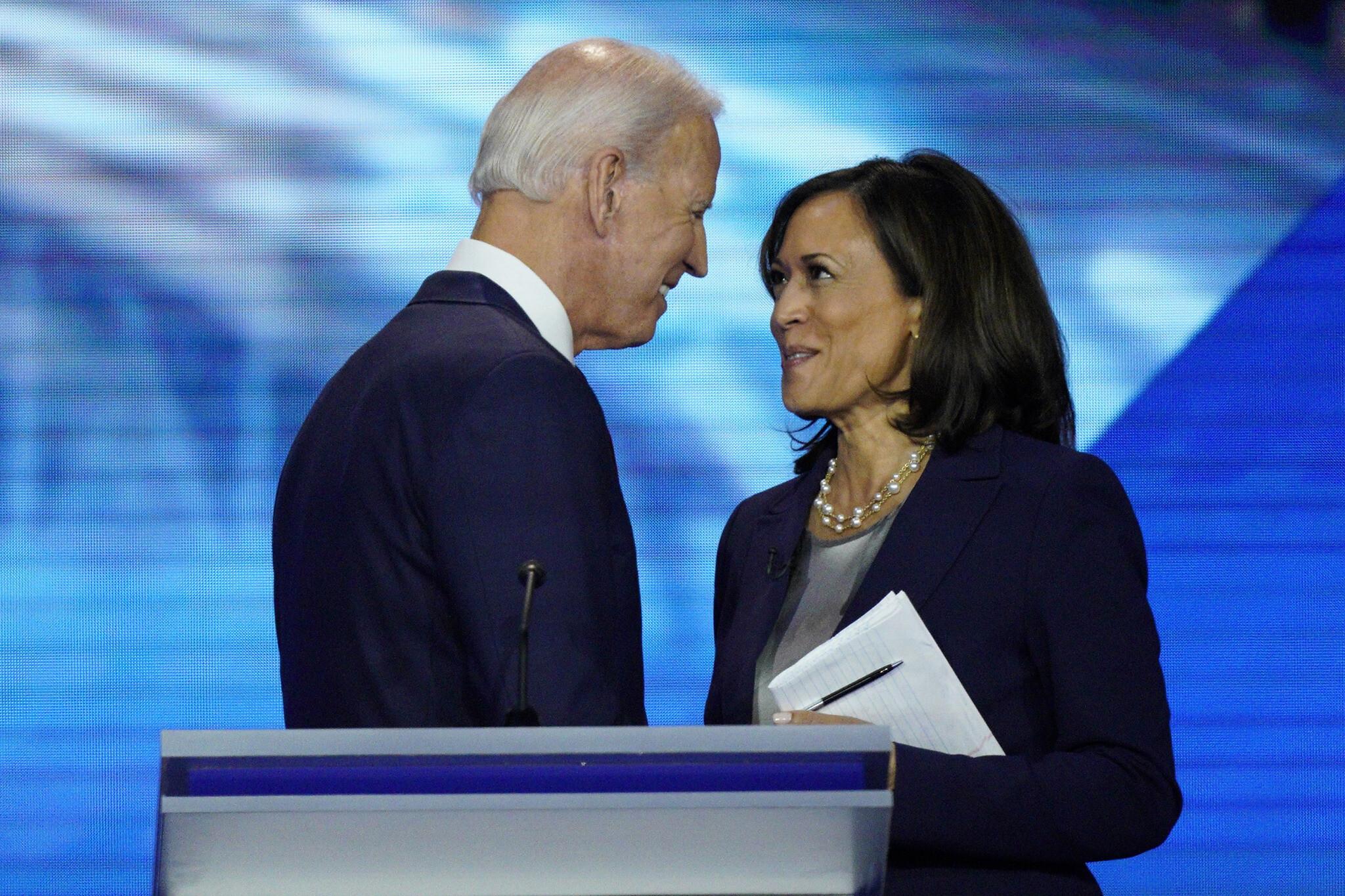 Joe Biden Selects Senator Kamala Harris As His Running Mate In 2020 Election The Times Of Israel