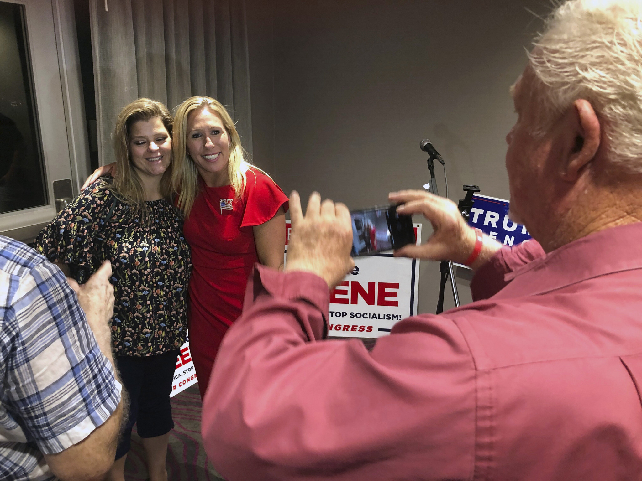 QAnon Backer Greene Wins GOP Primary in Georgia