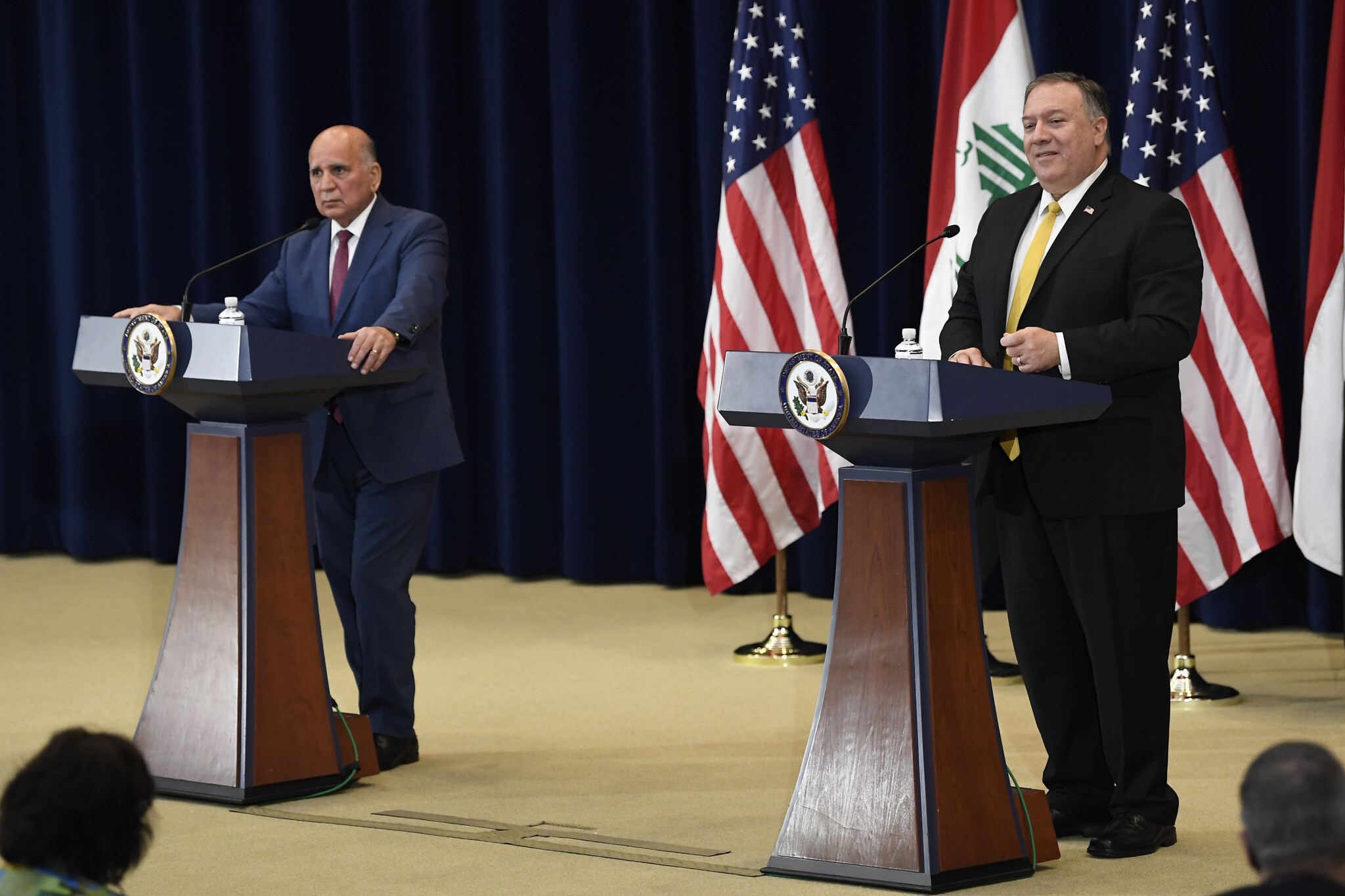 President Trump discusses pulling troops from Iraq