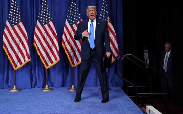 Republicans nominate Trump for second term