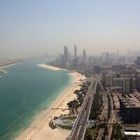 File: A view of Abu Dhabi, United Arab Emirates (AP Photo/Kamran Jebreili)