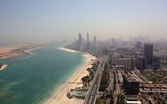 File: A view of Abu Dhabi, United Arab Emirates (AP Photo/Kamran Jebreili)