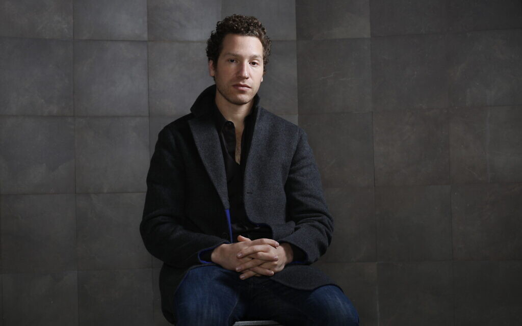 Producer and director Gabe Polsky poses for portraits at the 7th edition of the Rome International Film Festival in Rome, Friday, November 16, 2012.  (AP Photo/Domenico Stinellis)