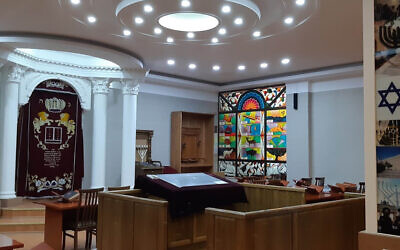 The Ashkenazi Synagogue of Tashkent, Uzbekistan. (Courtesy of L'Chaim via JTA)