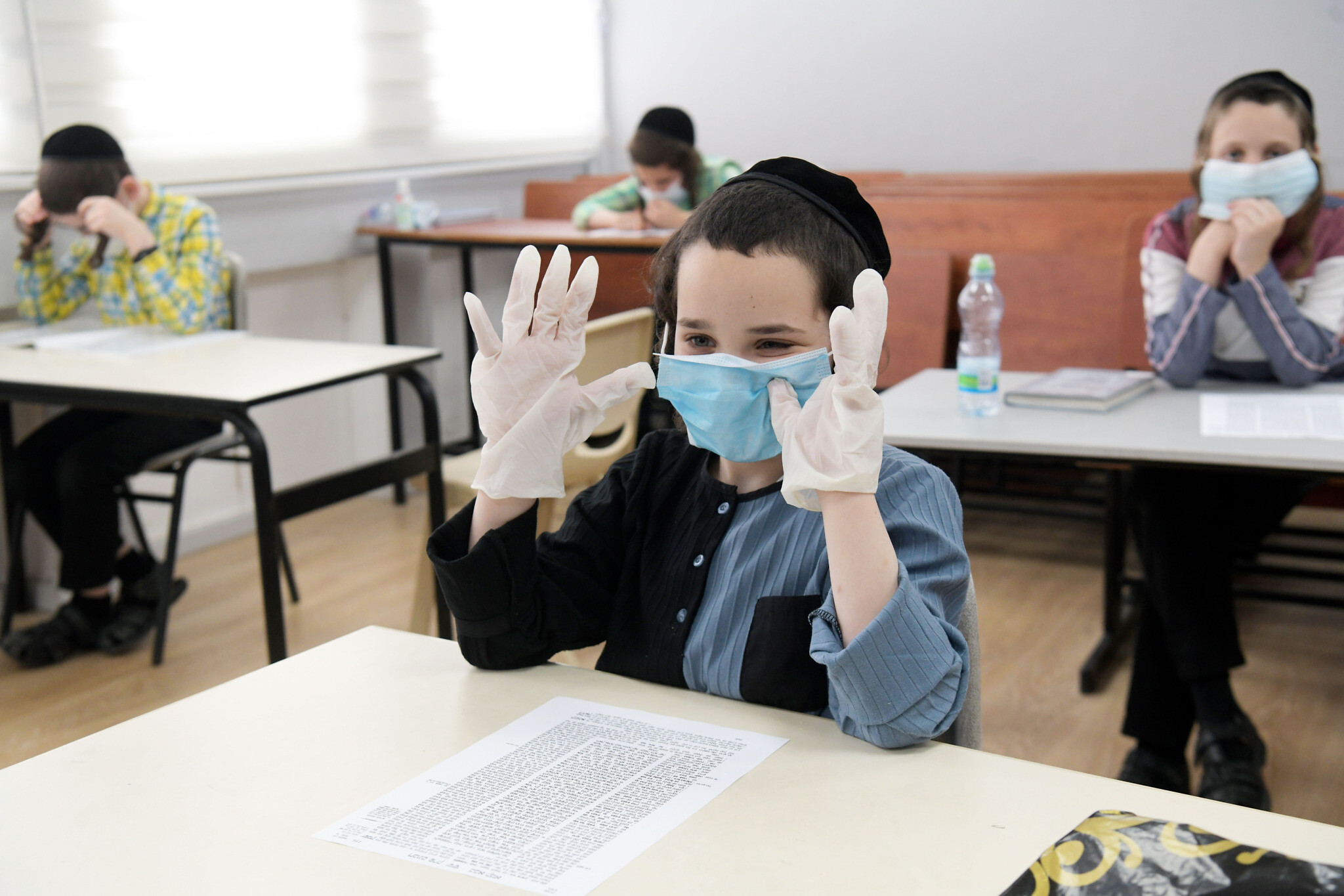 Cabinet approves NIS 4.2 billion plan for school year under coronavirus |  The Times of Israel