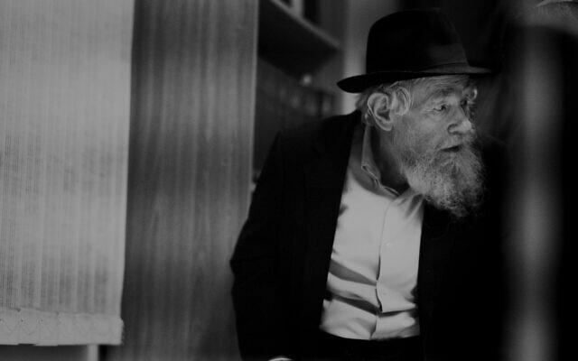 Rabbi Adin Steinsaltz. (Steinsaltz Center/courtesy)