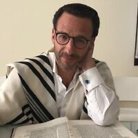 President of UAE's Jewish community Ross Kriel (courtesy)