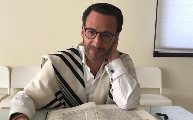 President of UAE's Jewish community Ross Kriel (courtesy)