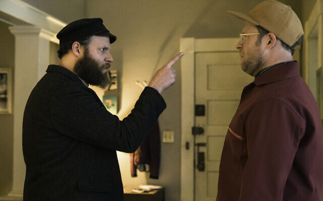 Seth Rogen plays a Russian-Jewish immigrant and his own great-grandson in 'An American Pickle.' (Courtesy HBO)