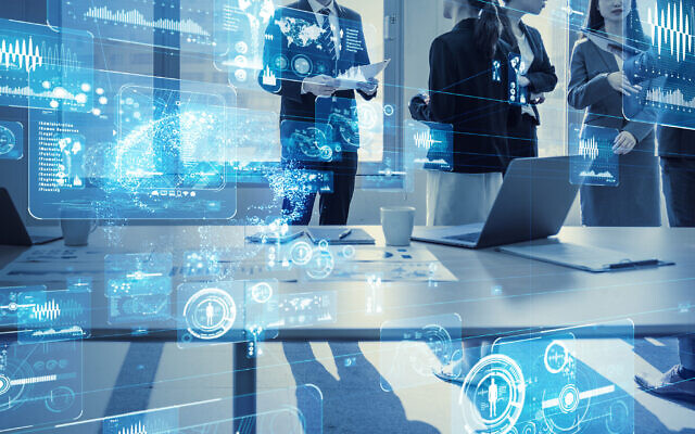 Illustrative: Business and technology (metamorworks; iStock by Getty Images)