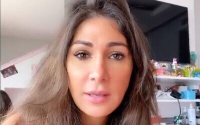 Lebanese blogger and journalist Dima Sadek. (video screenshot)