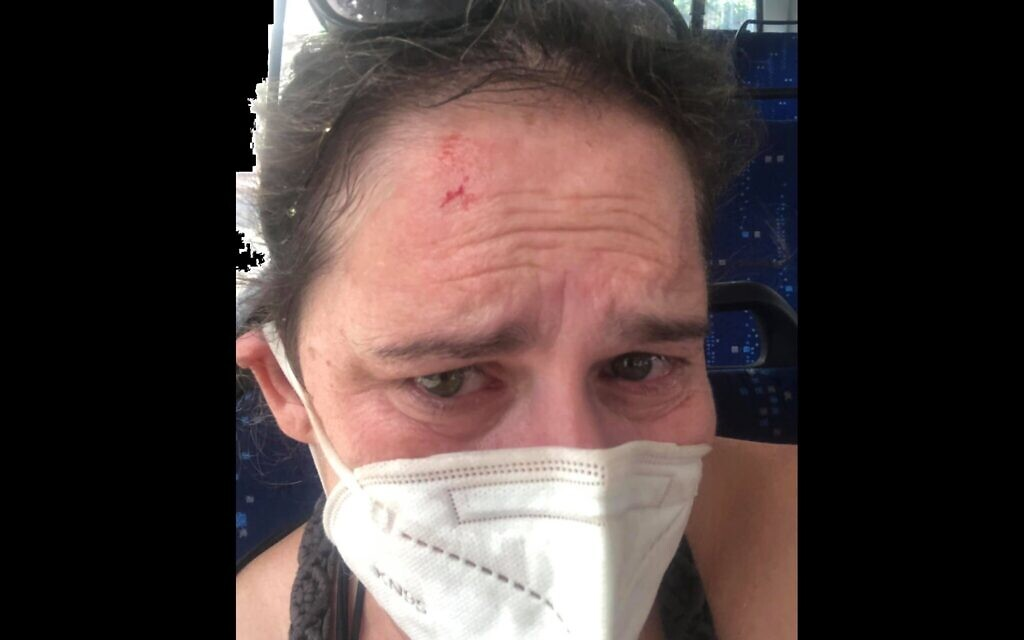 Tel Aviv woman says she was attacked after asking bus passenger to wear mask