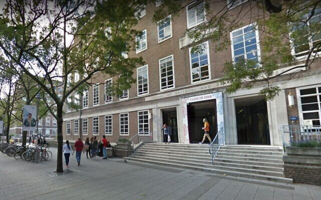 London University's School of Oriental and African Studies. (Google street view)