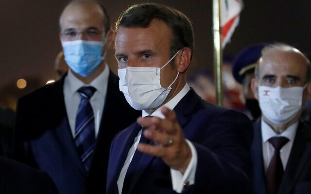 Emmanuel Macron is
