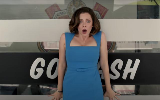 "Rachel Bloom as Rebecca Bunch in ""Crazy Ex-Girlfriend."" (YouTube screenshot/via JTA)"