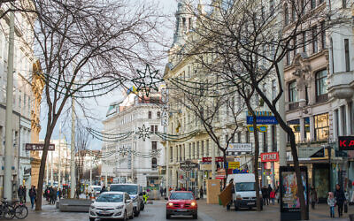 Most of the 8,000 or so Jews left in Austria live in Vienna, shown here in 2018. (Andrew Michael/Education Images/Universal Images Group via Getty Images via JTA)