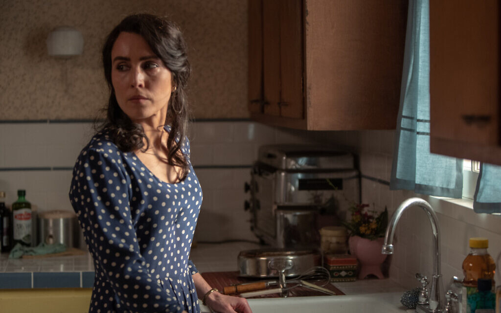 """Noomi Rapace stars as Maja in """"The Secrets We Keep."""" She believes she has some Roma heritage. (Patti Perret/Bleecker Street)"""