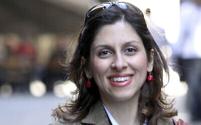 An undated file photo provided by the family of Nazanin Zaghari-Ratcliffe, a British-Iranian dual national detained in Iran. (Family of Nazanin Zaghari-Ratcliffe via AP, File)