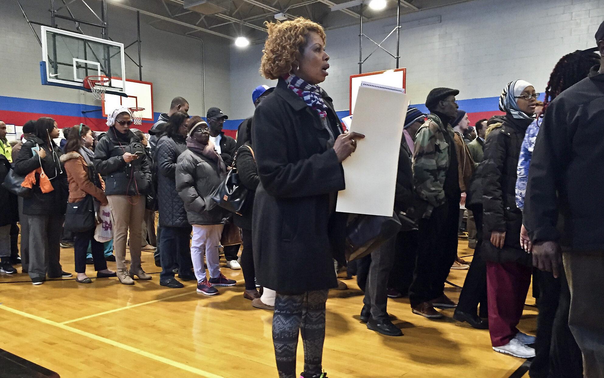 Trump's 2016 team accused of deterring black Americans from voting