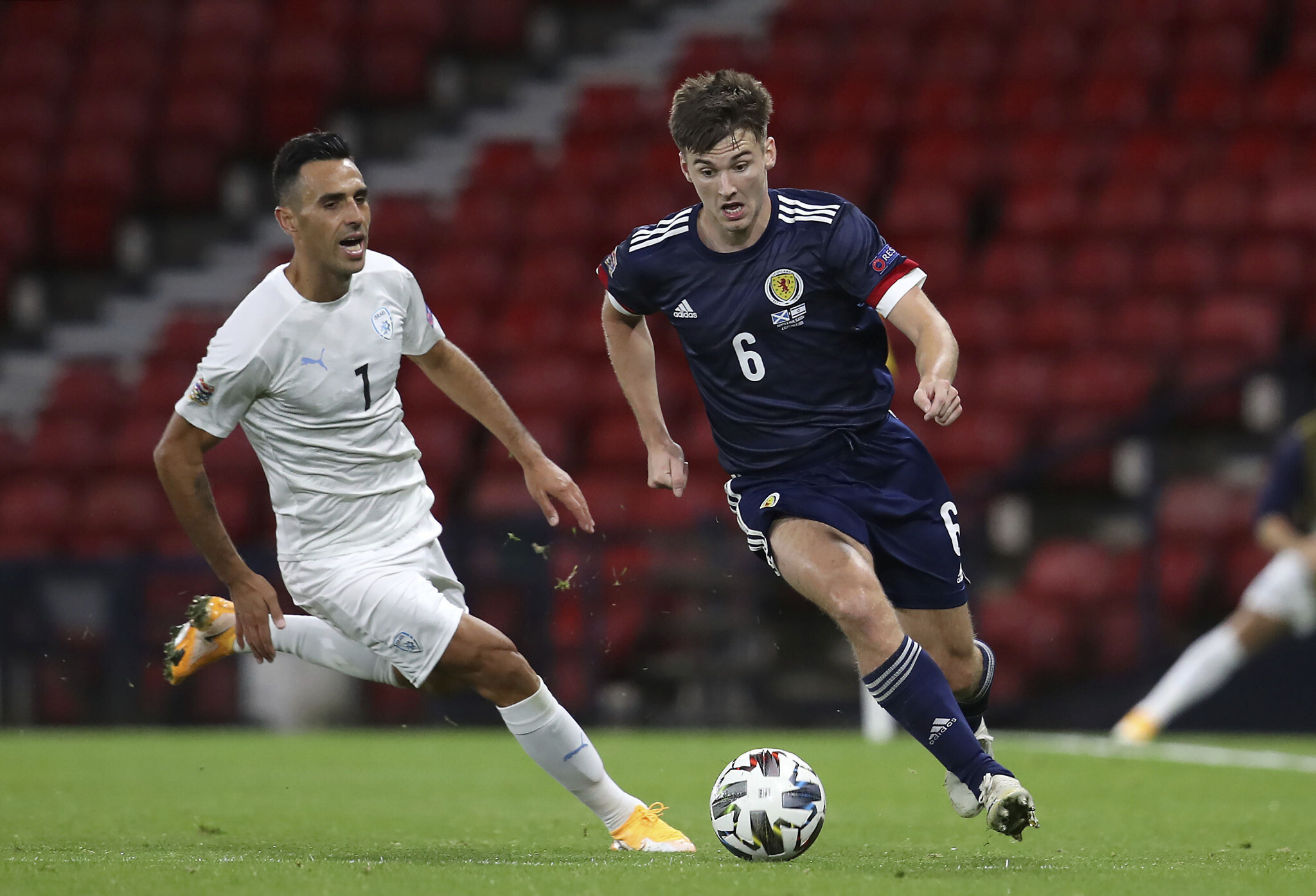 Israel Ties Scotland 1 1 In Uefa Nations League Opener The Times Of Israel
